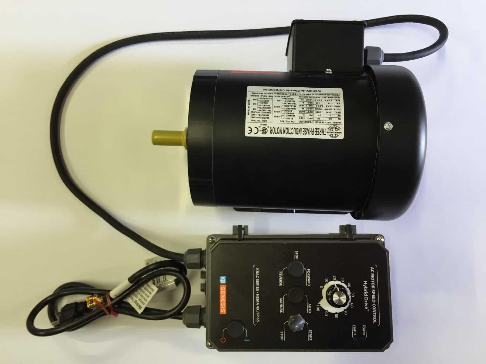 Belt Grinder 2 U00d772 U2033 Complete Chassis With Motor  U0026 Vfd Combo